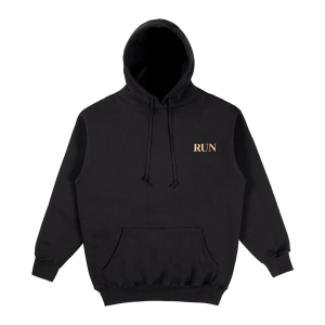 Joji Merch RUN REACH HOODIE in black color