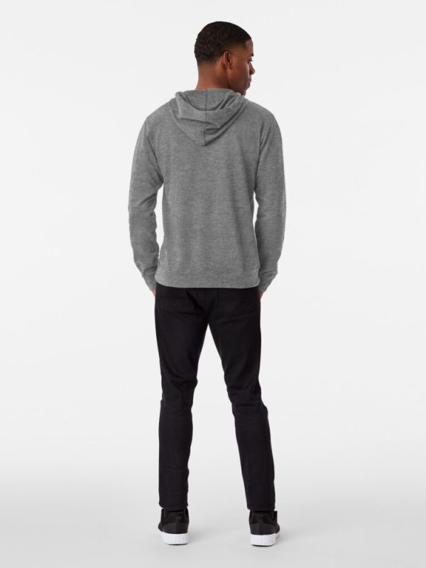 Man joji hoodie in grey with front pockets