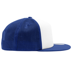 Joji Foam Trucker Hat in White and Blue Color